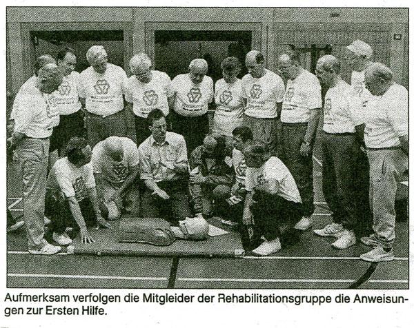 30 Jahre Herzsportgruppe