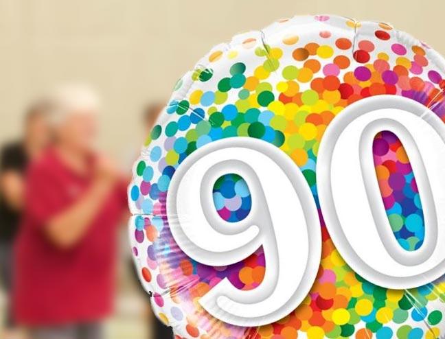 Mechtild Weber - 90. Geburtstag