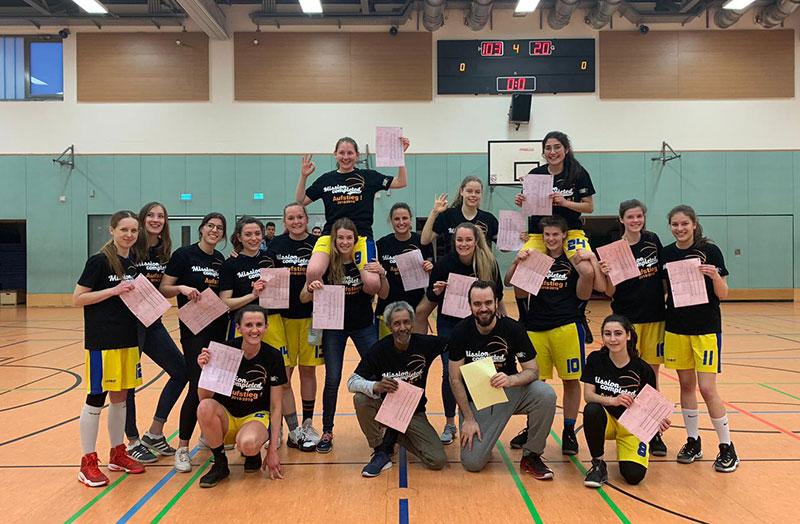 Basketball: 1. Damenmannschaft des TuS 96 feiert verdienten Aufstieg