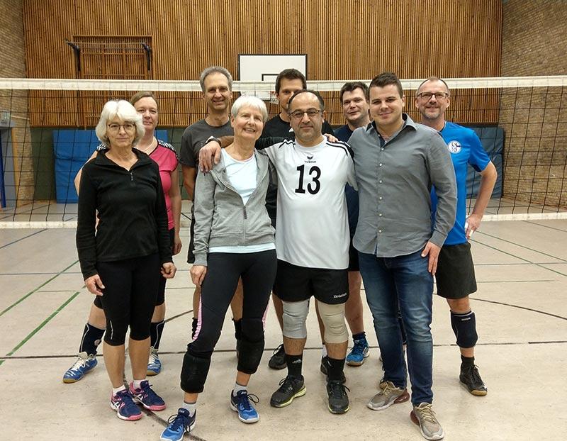 Staffelübergabe in der Volleyballabteilung des TuS 1896 Hilden e.V.