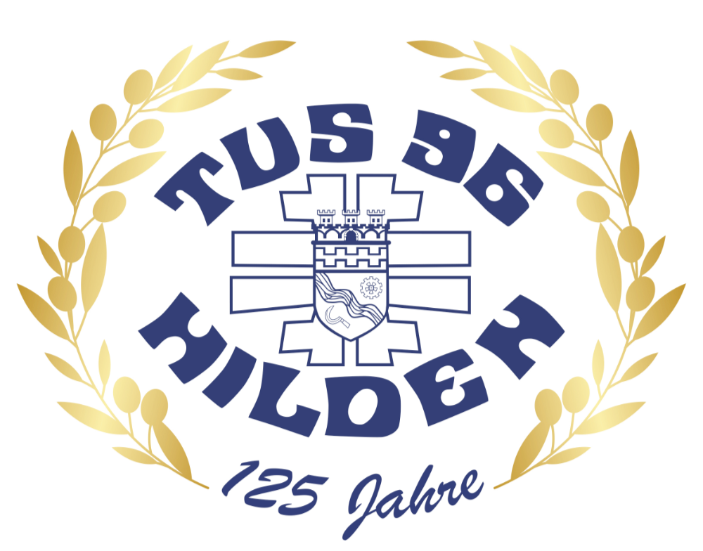 Jubiläums-Logo TuS 1896 Hilden e.V.